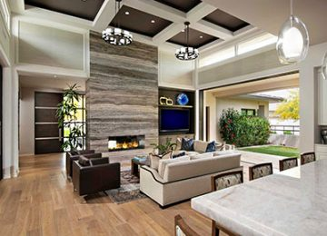 تصویری از معماری داخلی سبک مدرن یک منزل